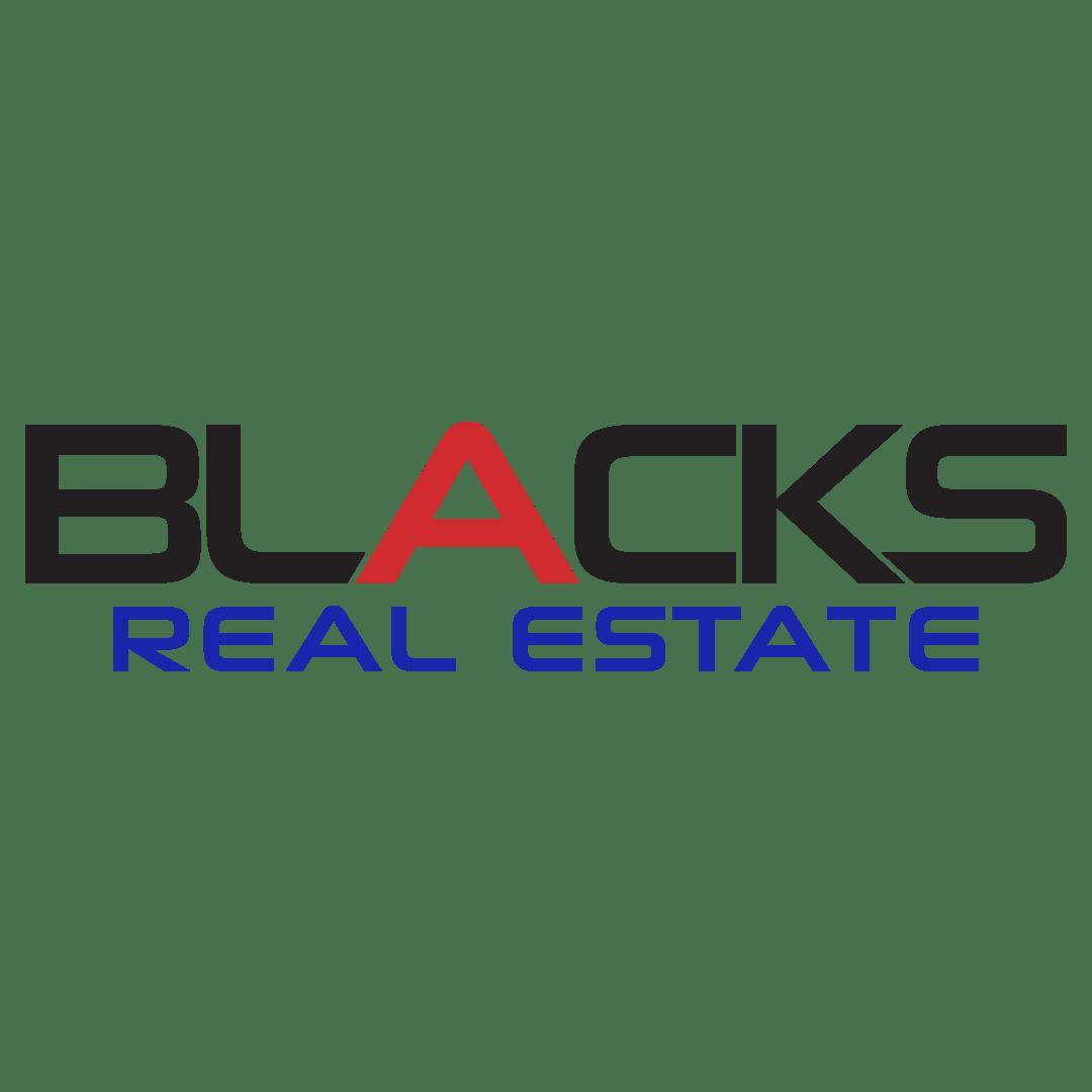 Blacks Real Estate Logo